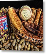 America's Pastime Metal Print by Ken Smith