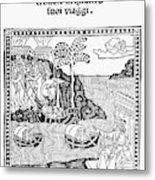 Amerigo Vespucci, 1505 Metal Print