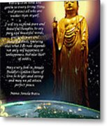 Amida's Golden Chain Of Love Metal Print