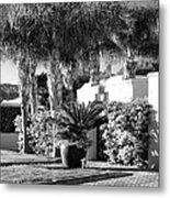 Amir Drive Bw Marrakesh Palm Springs Metal Print