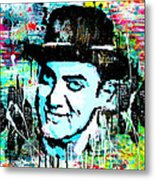 Amir Khan Dhoom 3 Pop Art By Minesh Pankhania Metal Print