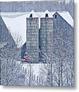 Amish Barn Metal Print by Jack Zievis