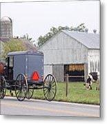 Amish Country Metal Print