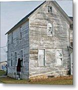Amish Window Washer Metal Print