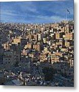 Amman Down Town Metal Print