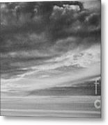 Among The Clouds II Metal Print
