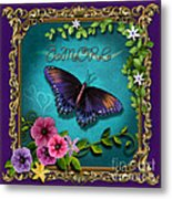 Amore - Butterfly Version Metal Print
