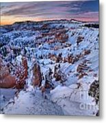Amphitheater Sunrise Metal Print