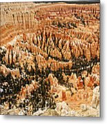 Amphitheatre At Bryce Canyon Metal Print