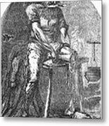 Amputation, 1865 Metal Print
