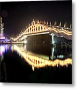 Amritasetu Lights Metal Print