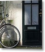 Amsterdam Bicycle #1 Metal Print