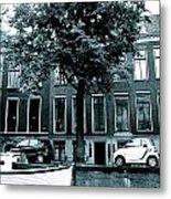 Amsterdam Electric Car Metal Print