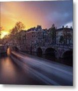 Amsterdam - Keizersgracht Metal Print