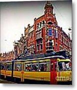 Amsterdam Transportation Metal Print