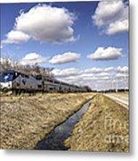 Amtrak 66  Metal Print