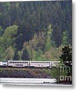 Amtrak Westbound Metal Print