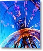 Amusement Park Rides 1 Metal Print