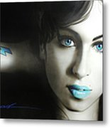 Amy 'n' Blues Metal Print