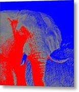 an Afternoon in Africa Metal Print