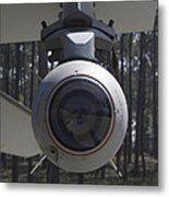 An Agm-65 Maverick Missile Mounted Metal Print