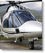 An Agustawestland A109 Power Elite Metal Print