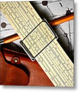 An Analytical Anomaly Metal Print