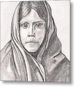 An Apache Daughter Metal Print