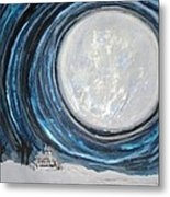 An Apparition Of The Moon  Metal Print