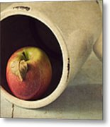 An Apple A Day... Metal Print by Amy Weiss