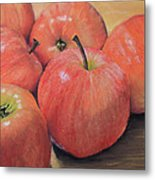 An Apple A Day Metal Print by Joanne Grant