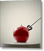 An Apple Metal Print