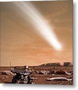 An Artists Depiction Of The Close Pass Metal Print by Marc Ward