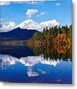 An Autumn Evening On Lake Chocorua Metal Print