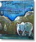 An Elephant For You Metal Print