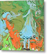 An Elf In Wonderland Metal Print