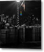 An Empire In The Distance Metal Print