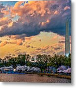 An Evening In Dc Metal Print