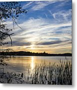 An Evening In Lakes Country Metal Print