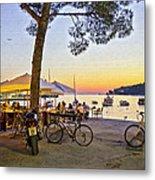 An Evening In Rovinj - Croatia Metal Print