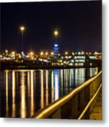 An Evening In Sioux City Metal Print
