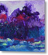 An Evening In Spring Metal Print