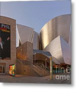 An Evening With Gustavo - Walt Disney Concert Hall Architecture Los Angeles Metal Print