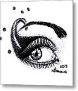 An Eye For Art Metal Print