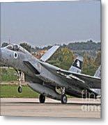 An F-15a Baz Of The Israeli Air Force Metal Print