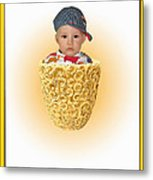 An Image Of A Photograph Of Your Child. - 03 Metal Print
