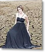 An Image Of Elegance Metal Print