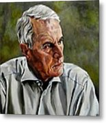 An Interesting Man - Viktor Hesse Metal Print