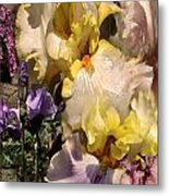 An Iris Surprise Right Metal Print