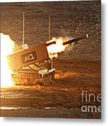 An Israel Defense Force Artillery Core Metal Print
